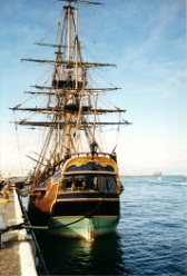 A special voyage on a tall ship
